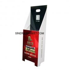 Karton Stand Çöp Kutusu - 03