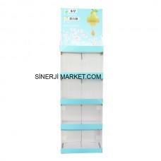 Karton Stand Raflı - 01