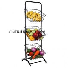 Metal Market Stand - 01