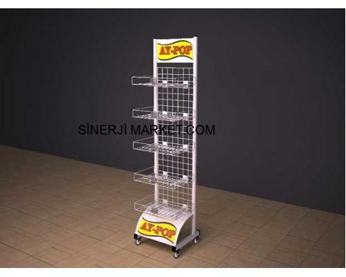 Metal Market Stand - 04