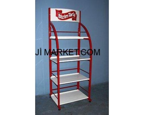Metal Market Stand - 05