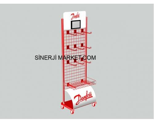 Metal Market Stand - 07