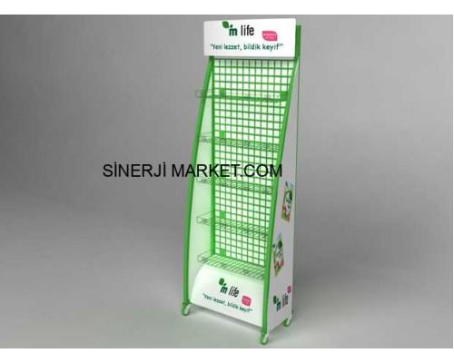 Metal Market Stand - 10