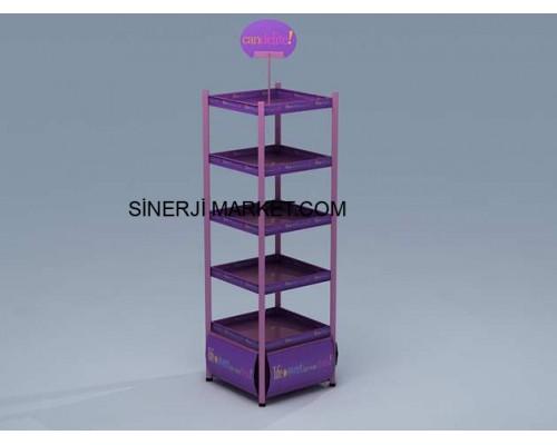 Metal Stand Orta Alan - Havuz - 04