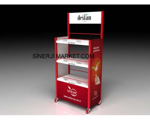 Metal Stand Raflı - 05