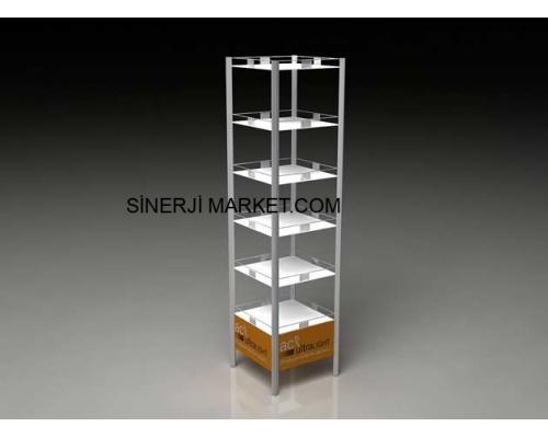 Metal Stand Raflı - 08