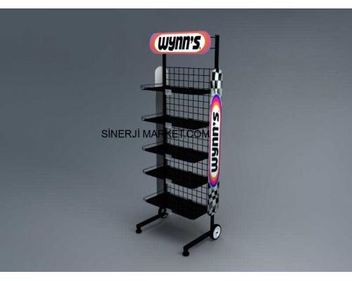 Metal Stand Raflı - 13