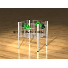 Metal Stand Tel Sepet - 01